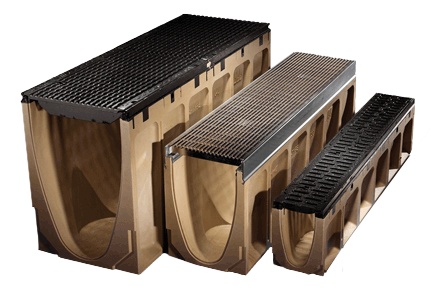 Aco Drain Modular Grated Trench Drain Systems